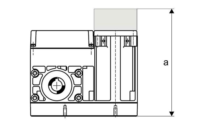 Slip-on geared motor Compacta MR6 Options